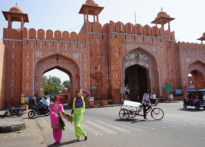 jaipur royal city gate
