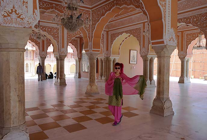 jaipur city palace interior inside