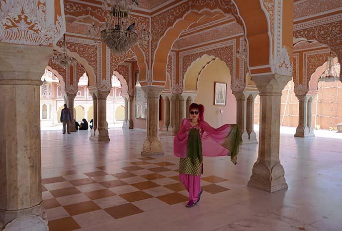 jaipur city palace interior inside