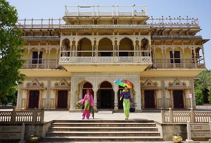mubarak Mahal india palace