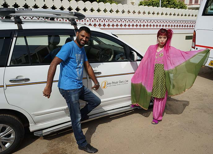 india driver guide janu shabbir khan