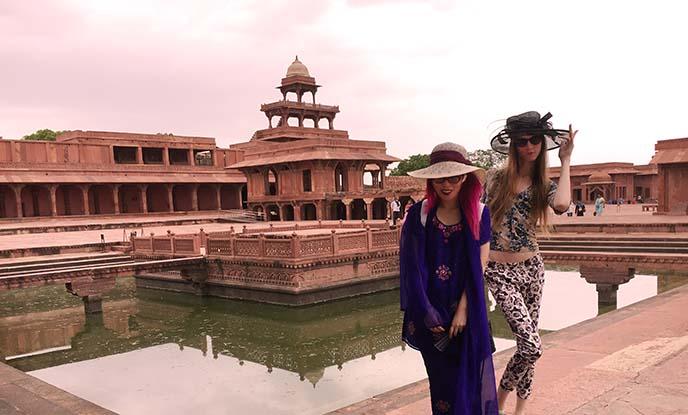 Jodha Bai Palace Fatehpur Sikri