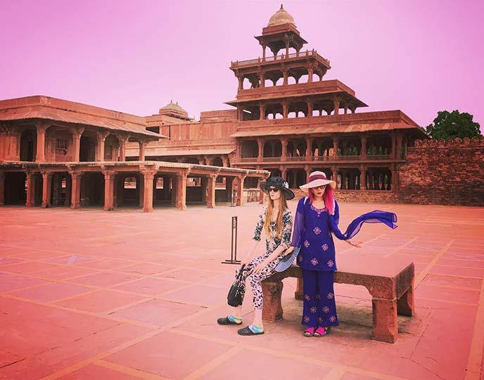 fatehpur sikri history jodha bai palace