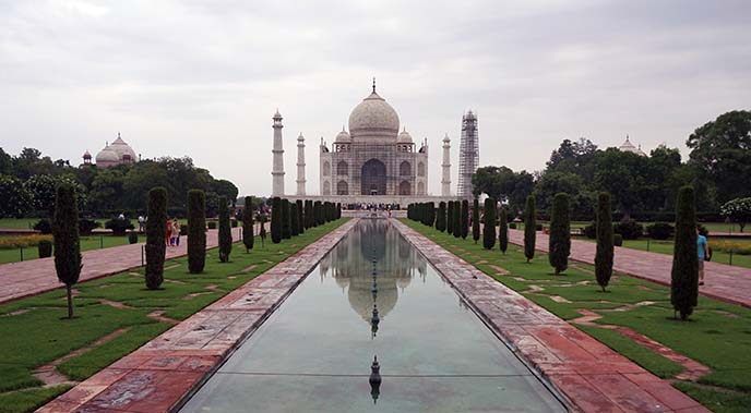 symmetry taj mahal architecture