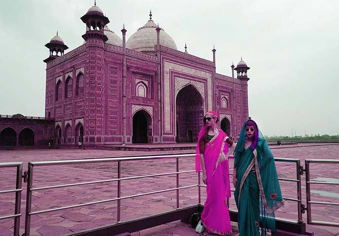 influencers instagram taj mahal
