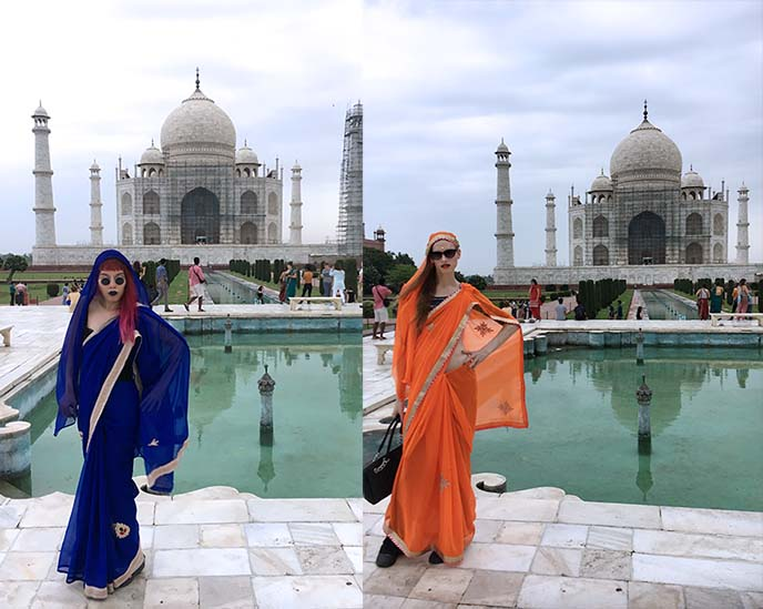 visiting the taj mahal what to wear