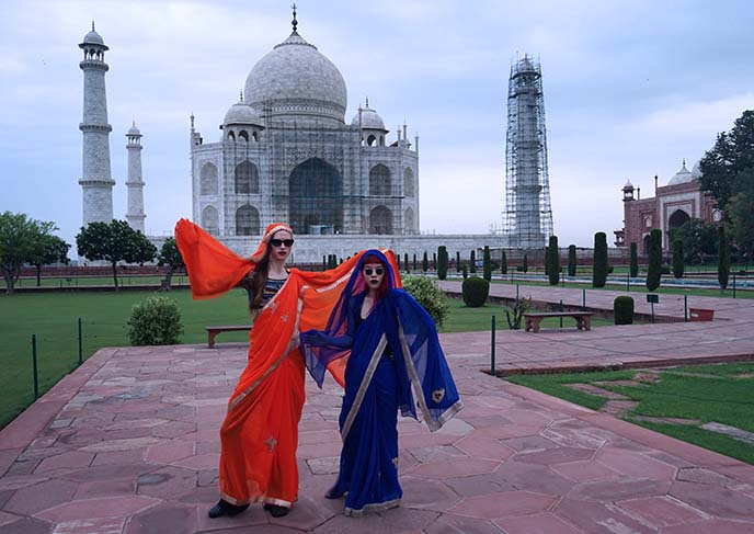 female travelers india agra