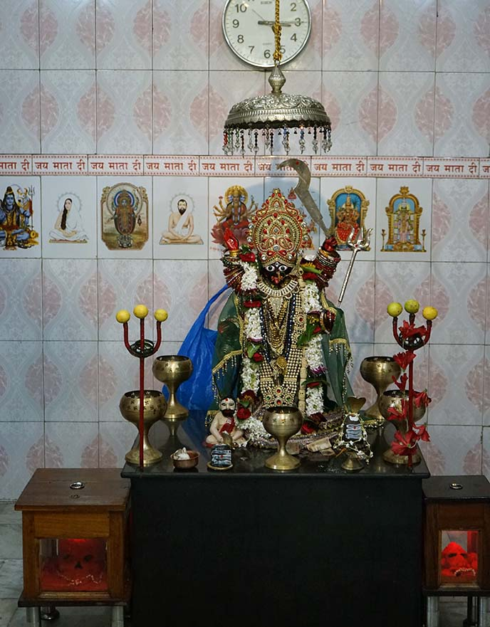 kali temple shrine