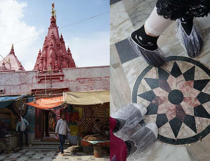 Durga Mandir red temple, Varanasi