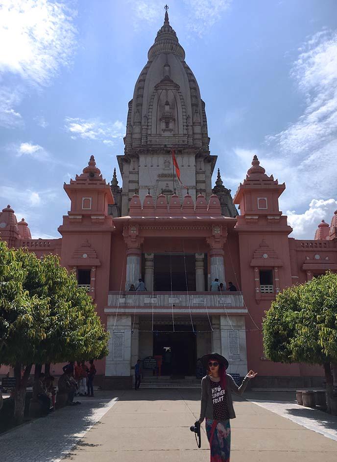 durga hindu temple banaras university