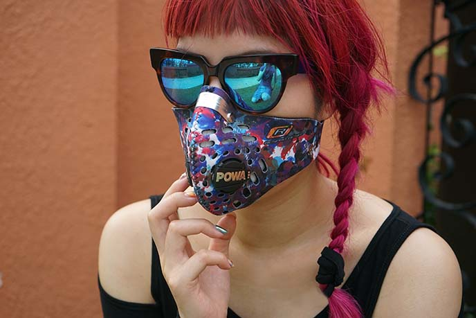 stylish apocalyptic pollution masks