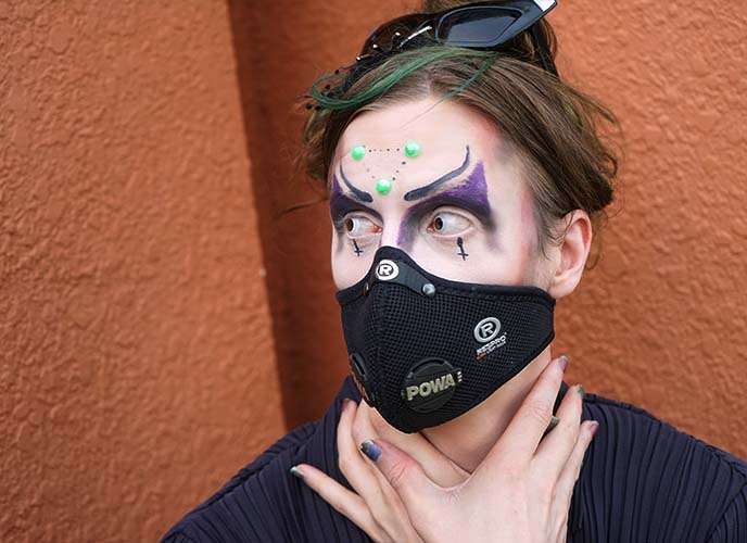 respro professional pollution masks