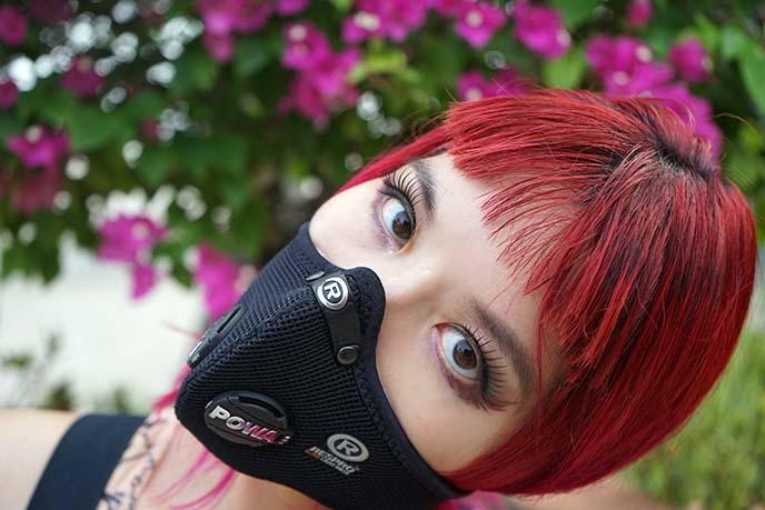 Respro® Ultralight mask women's black
