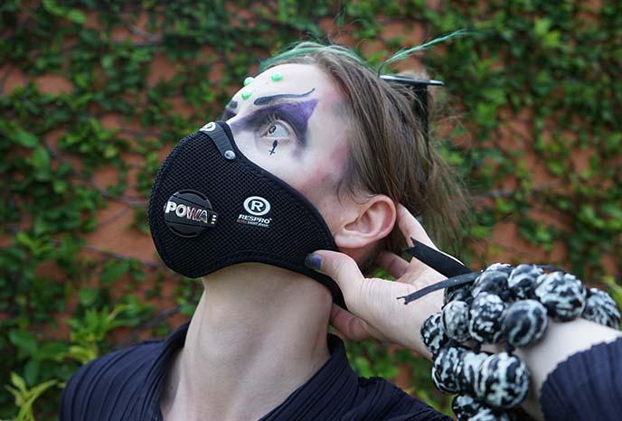 respro pollution masks hepa filter