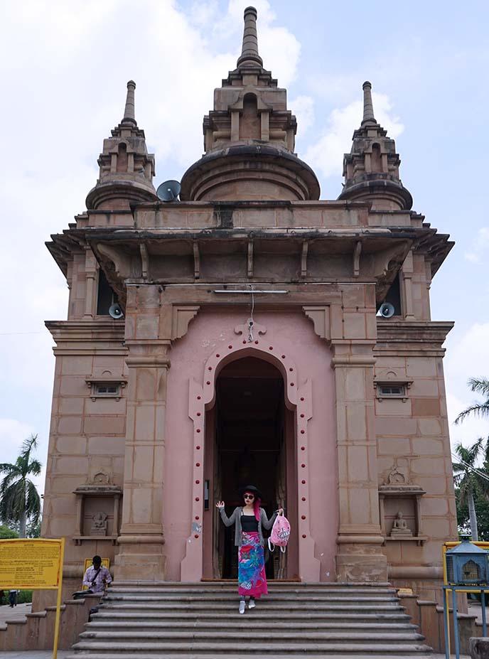 Mulagandhakuti Vihara, Sri Lankan temple Sarnath