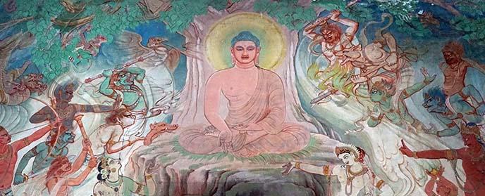 Mulagandhakuti Vihara Buddhist temple monastery