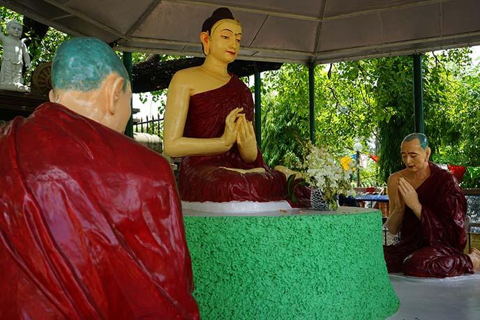 buddha 1st sermon to ascetics
