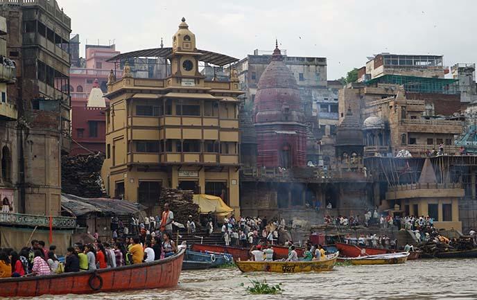 burning funeral fires ghats varanasi