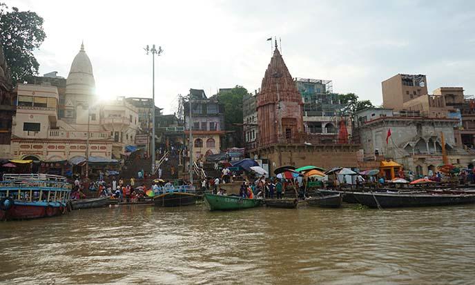 hindu temples ganges river