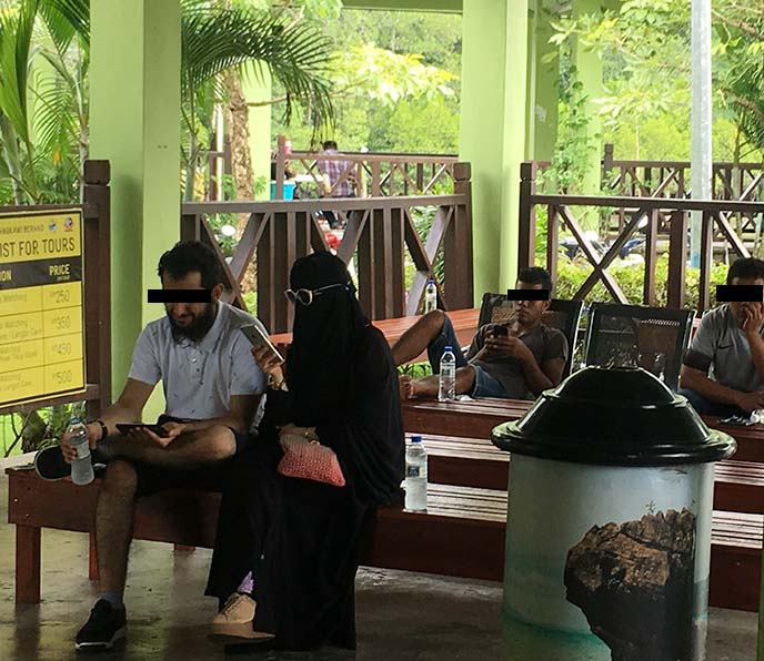 black burkas with sunglasses
