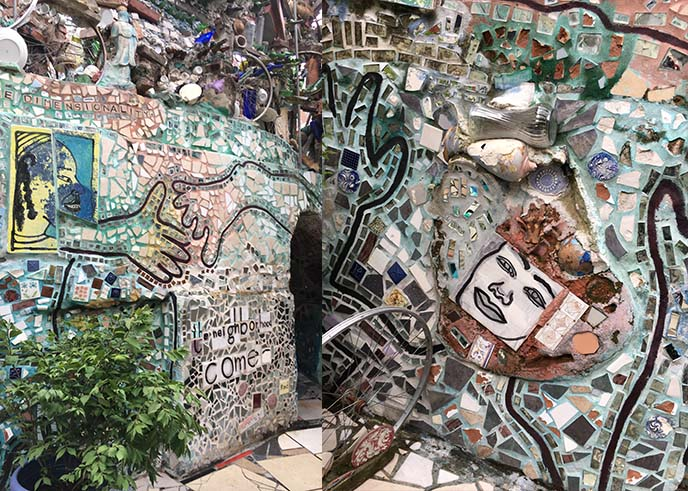 philadelphia magic gardens tunnels