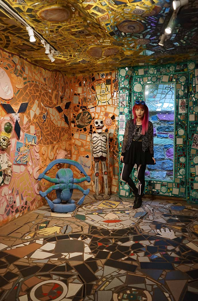 philadelphia magic gardens basement