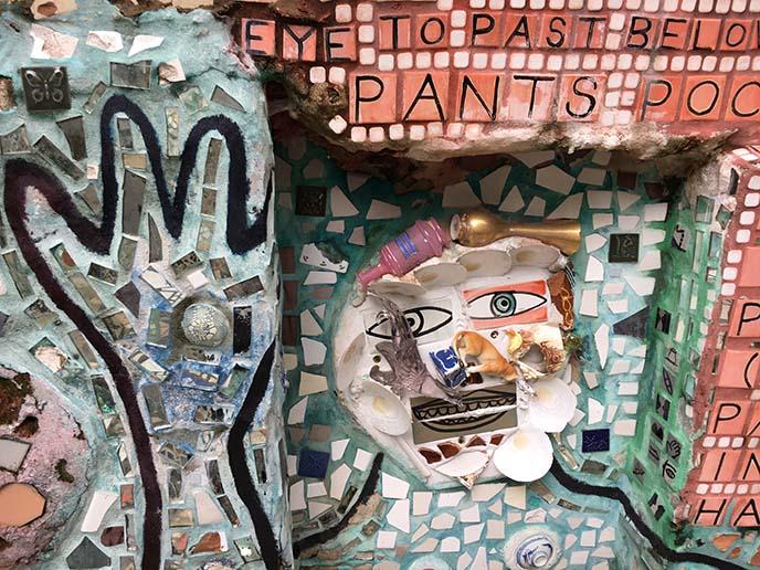 isaiah zagar mosaic art