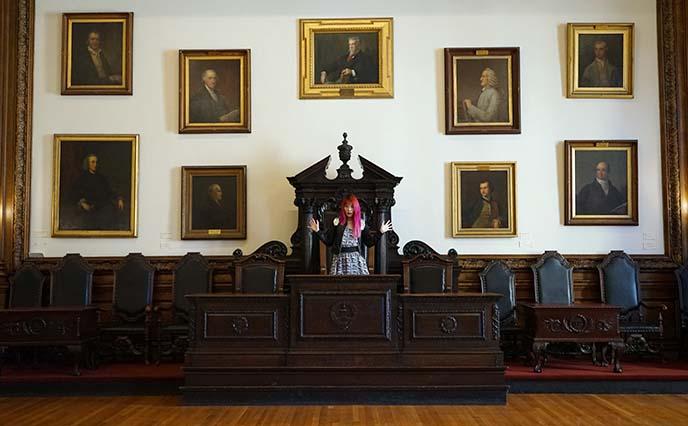 mutter museum podium doctors