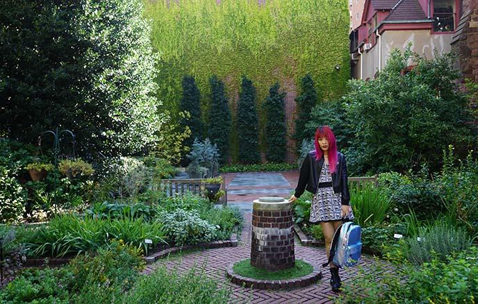 Benjamin Rush Medicinal Plant herb Garden