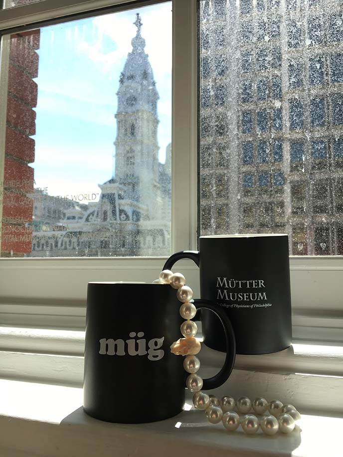 mutter museum gift shop coffee mugs