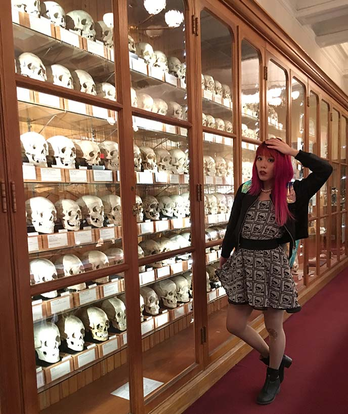 mutter museum Philadelphia skull collection