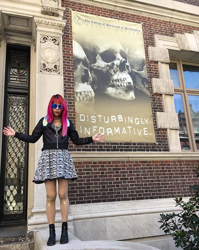 bizarre weird mutter museum philly