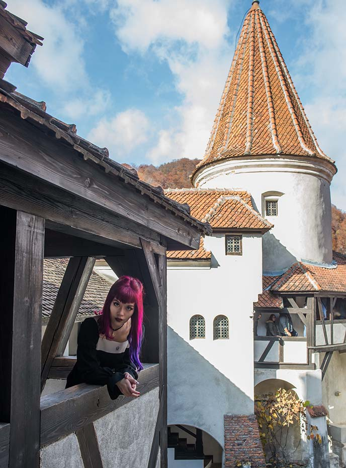bran castle dracula towers