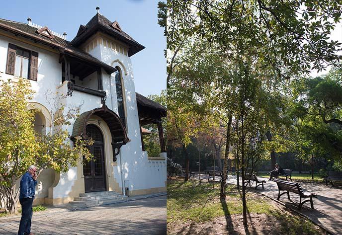 bucharest public parks gardens