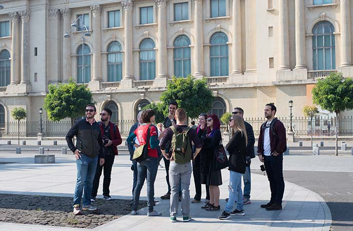 bucharest tour company guide