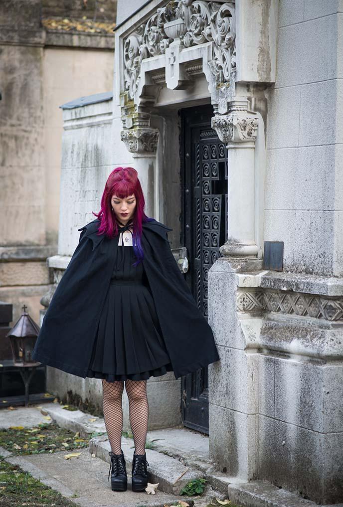 gothic vampire japanese fashion goth
