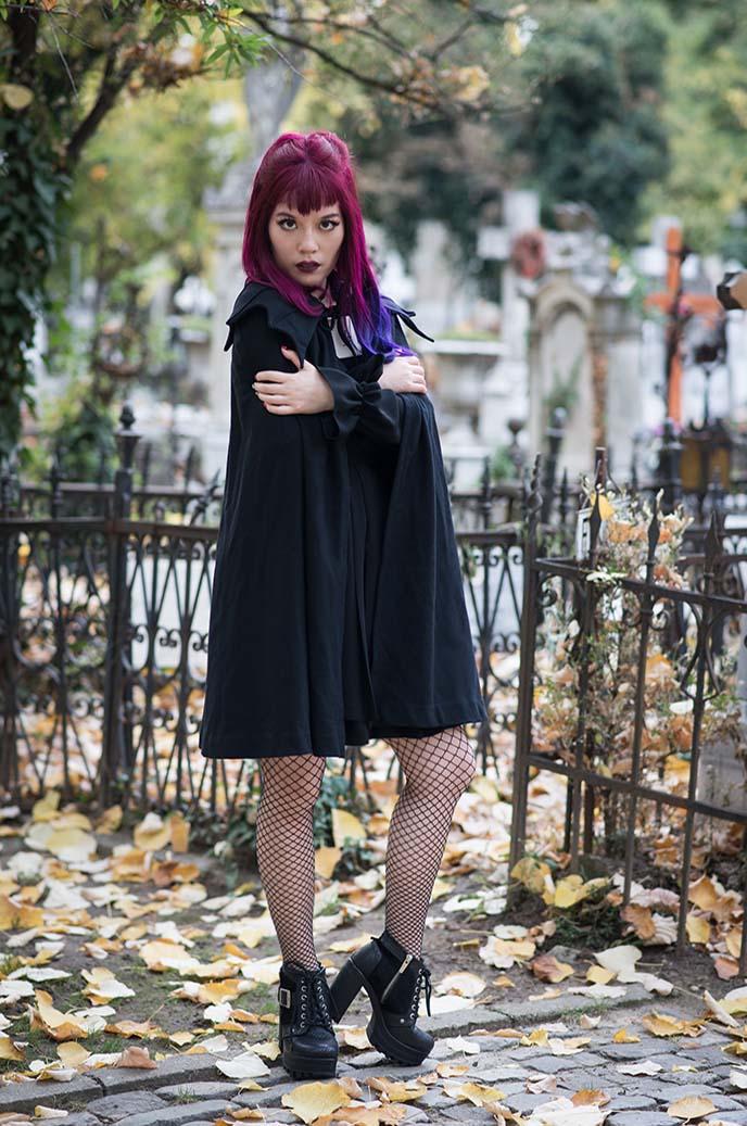 designer vampire cape dracula