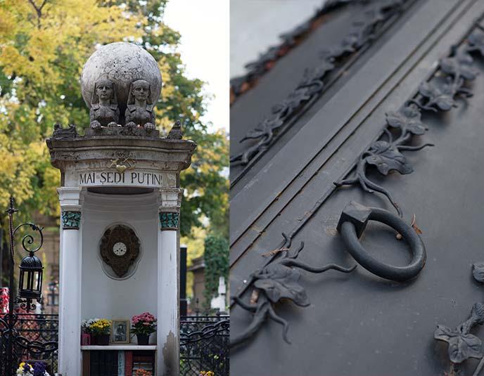putin gravestone tombstone tomb