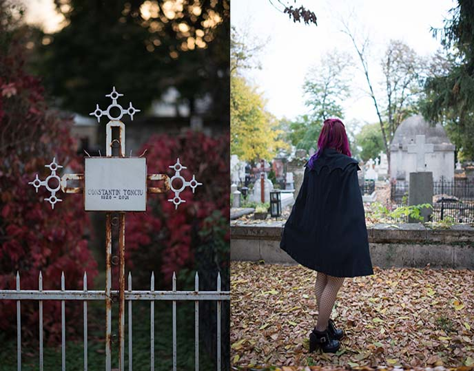 designer black vampire cape