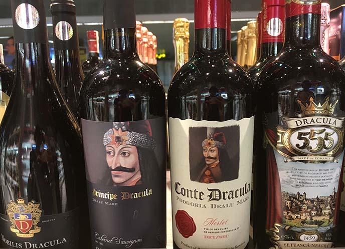 conte dracula wines romania