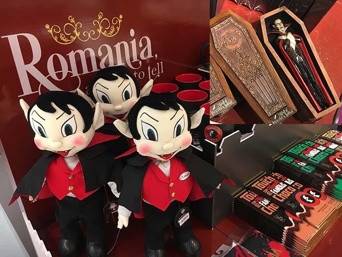 romania vampire dracula toys souvenirs