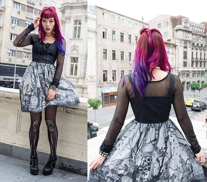 moi meme moitie gothic lolita egl dress