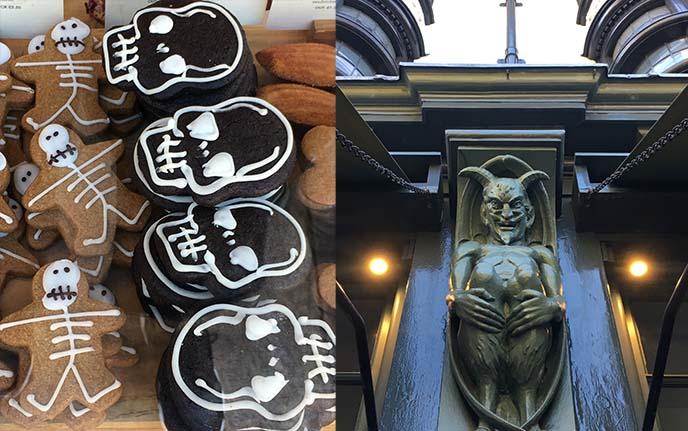 devil satan sculpture london chelsea