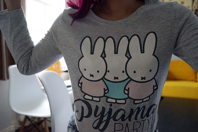 miffy pajamas, pjs primark