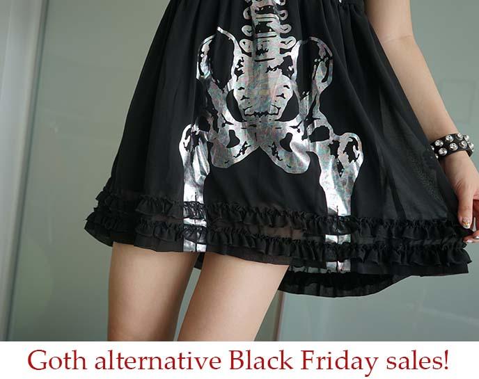 it's black friday clothing haul goth fashion