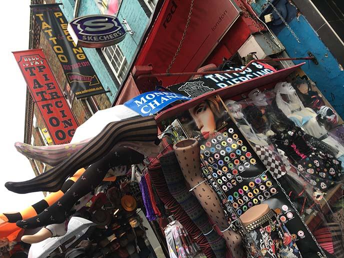 camden market tattoo parlors