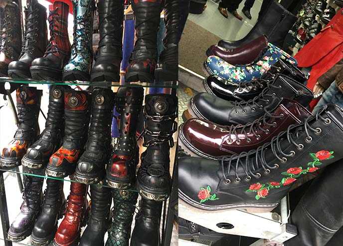 new rock boots shop camden
