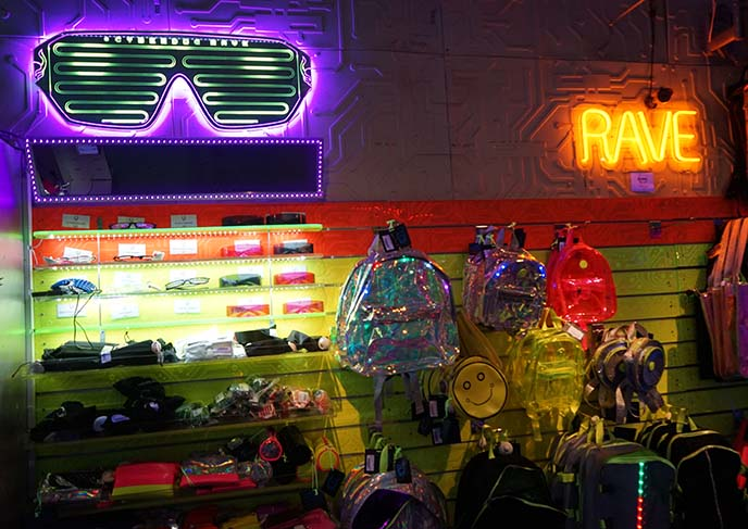 rave clubbing clubwear store london
