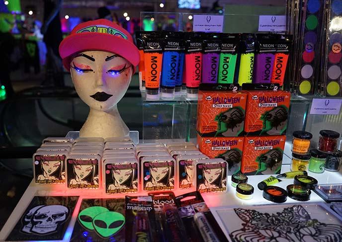 cyberdog makeup led eyelashes