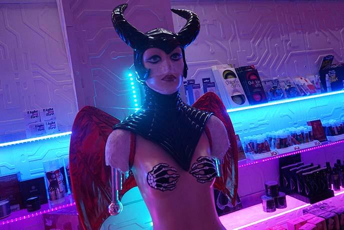 maleficent devil horns headgear